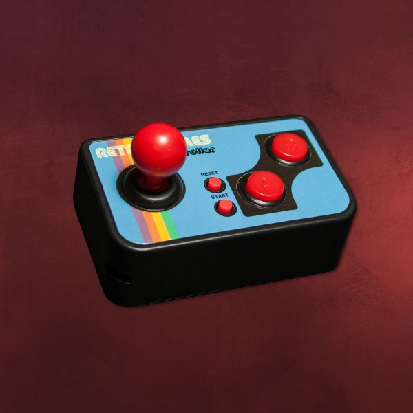 Retro TV Video Game Controller mit Mini Games