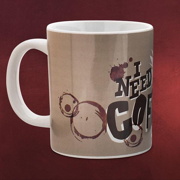 Minions - I Need Coffee Tasse