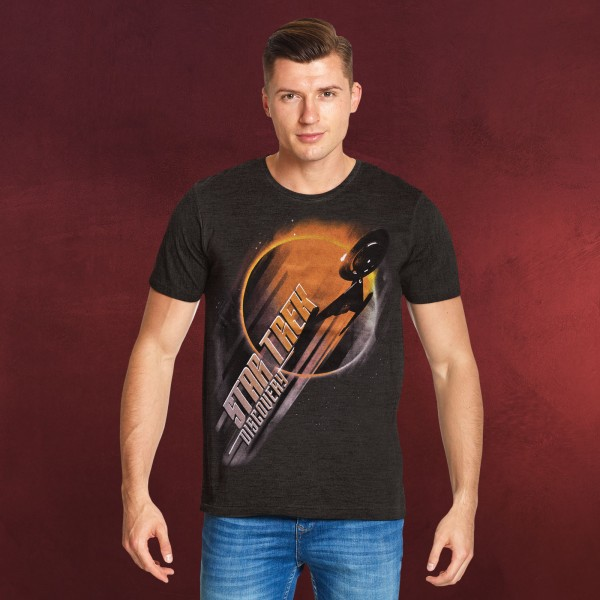 Star Trek - Discovery Eclipse T-Shirt grau
