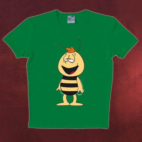 Biene Maja - Willi T-Shirt grün
