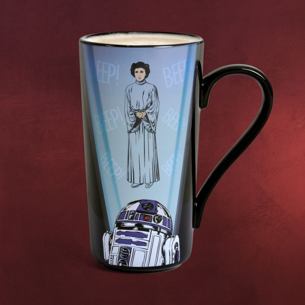 Star Wars - Leia Thermoeffekt Tasse