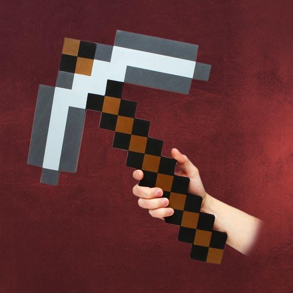 Minecraft Pickaxe Schaumstoff Replik