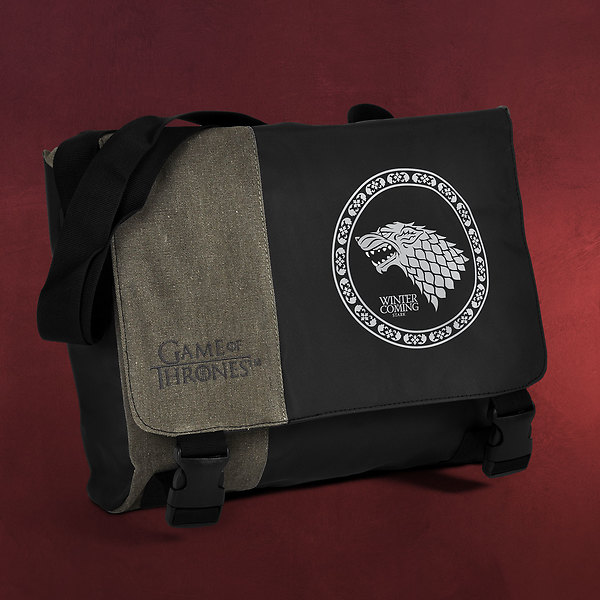 Game of Thrones - Winter is Coming House Stark Messenger Bag
