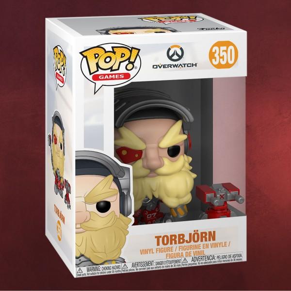 Overwatch - Torbjörn Funko Pop Figur