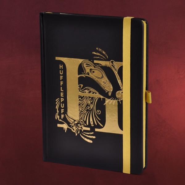 Harry Potter - Hufflepuff Art Premium Notizbuch A5