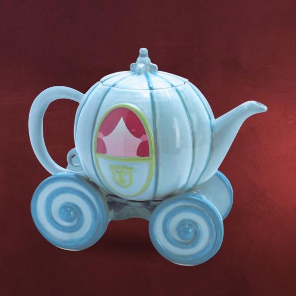 Cinderella - Kutsche Teekanne