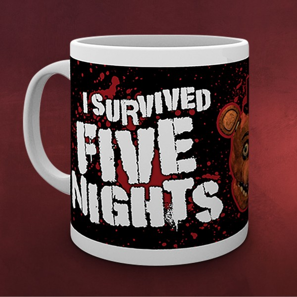 Five Nights at Freddys - I Survived Tasse