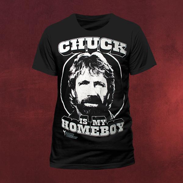 Chuck Norris Homeboy T-Shirt
