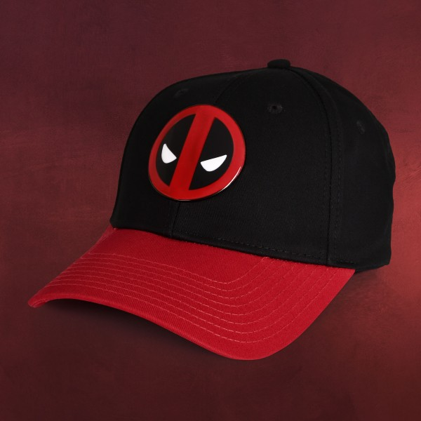 Deadpool - Metall Logo Basecap