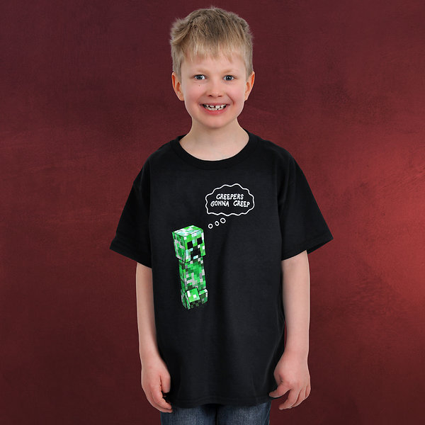 Minecraft - Creepers Gonna Creep Kinder T-Shirt