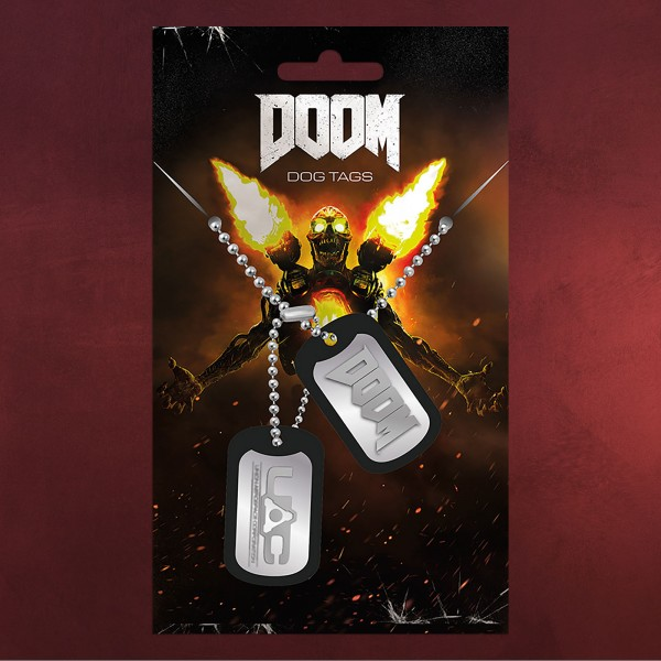 Doom - UAC Dog-Tag Kette