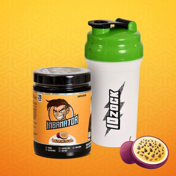 LootBoy Imbanator Booster Maracuja Getränkepulver mit gratis Shaker