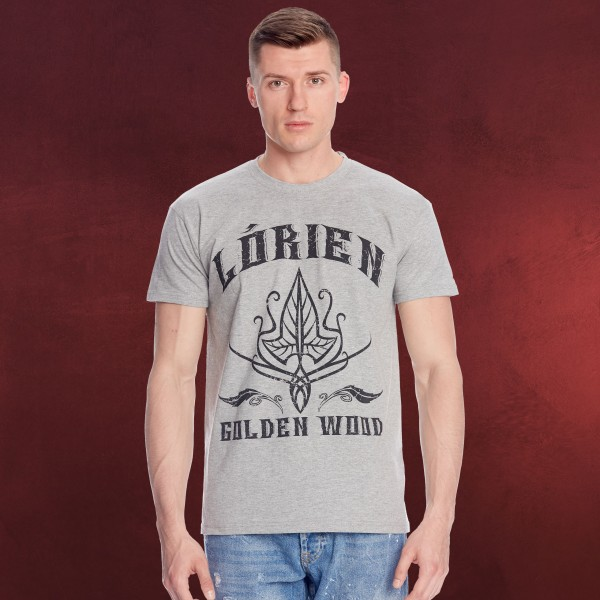 Herr der Ringe - Lorien T-Shirt grau