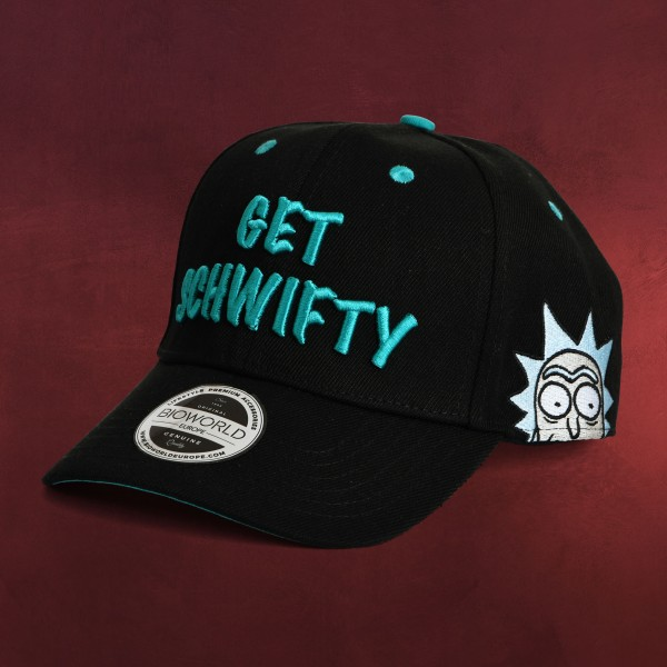 Rick and Morty - Get Schwifty Basecap schwarz