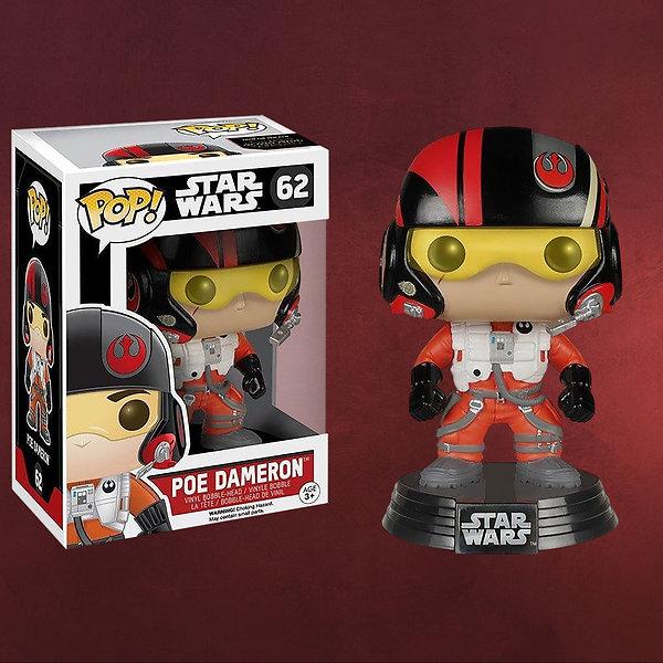 Star Wars - Poe Dameron Wackelkopf-Figur