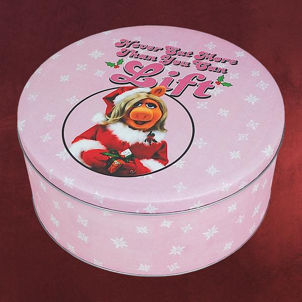 Muppets - Miss Piggy Christmas XXL Keksdose