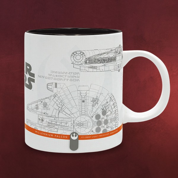 Star Wars - Spaceship Sketches Tasse