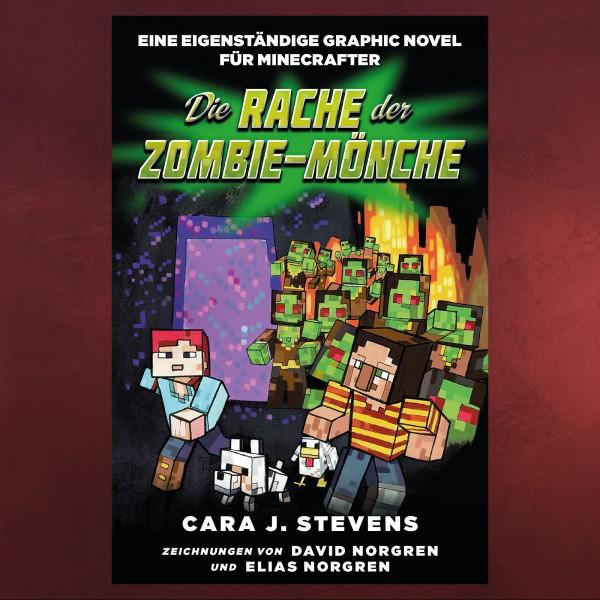 Die Rache der Zombie-Mönche - Graphic Novel für Minecrafter