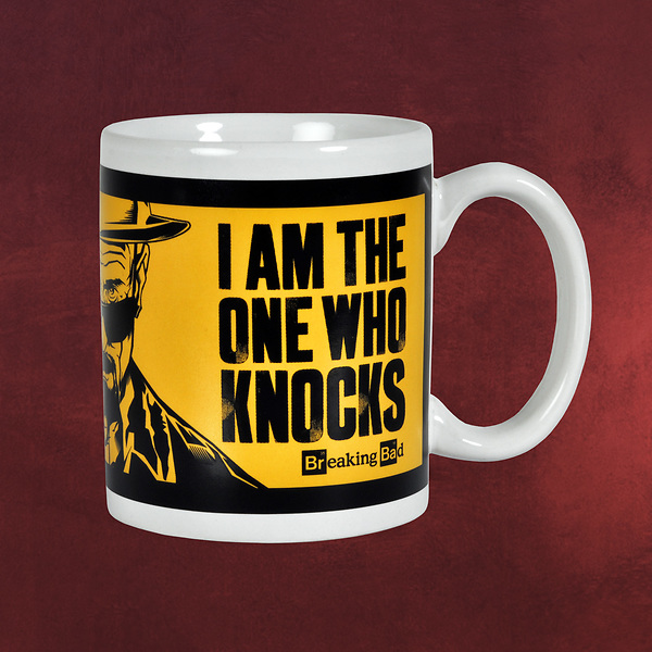 Breaking Bad - The One Who Knocks Tasse