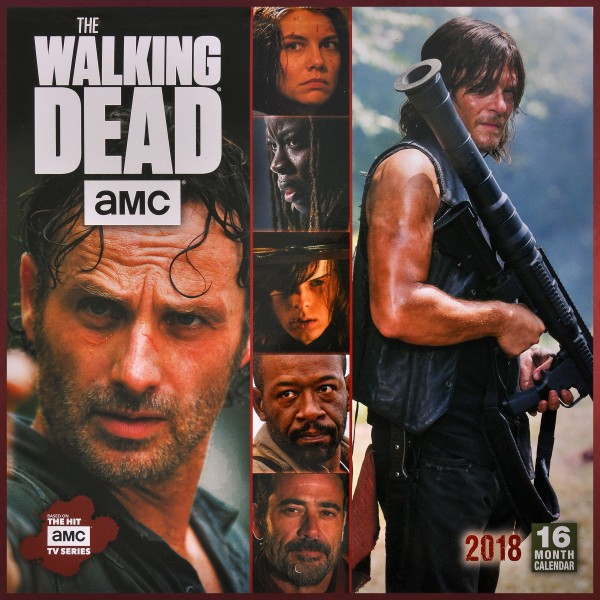 Walking Dead - Wandkalender 2018