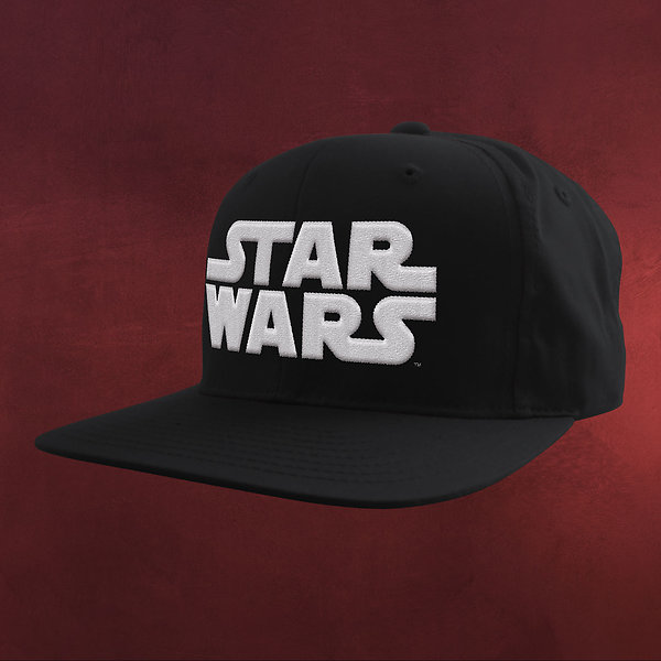 Star Wars - Logo White Snapback Cap