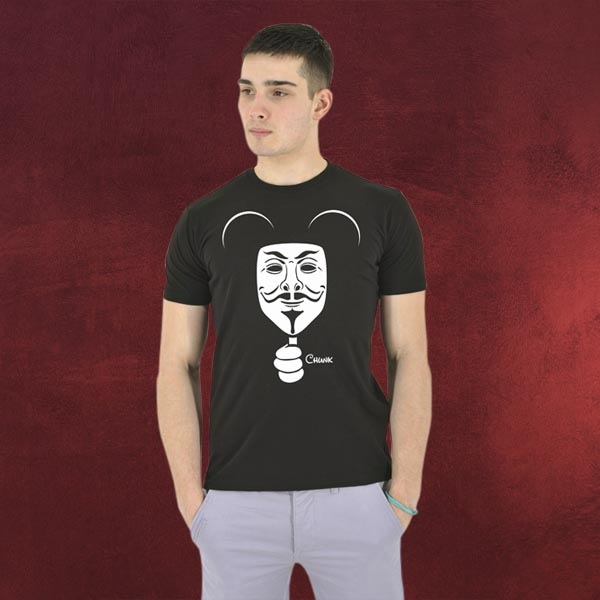 Mickey Mouse Anonymous - T-Shirt