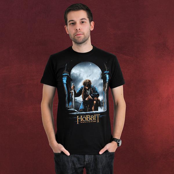 Der Hobbit - Bilbo mit Stich T-Shirt