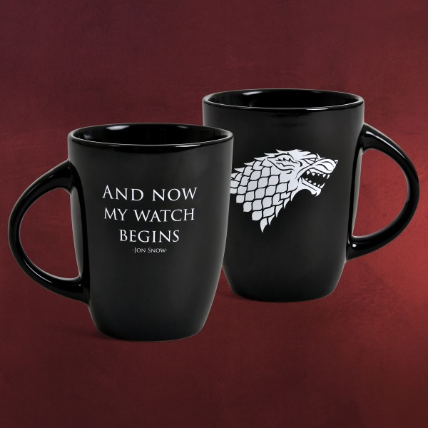 Game of Thrones - My Watch Begins Noble Words Tasse