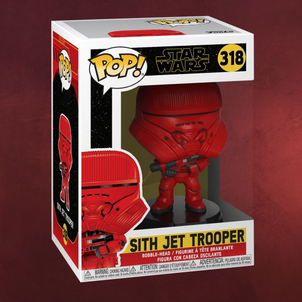 Star Wars - Sith Jet Trooper Funko Pop Wackelkopf-Figur