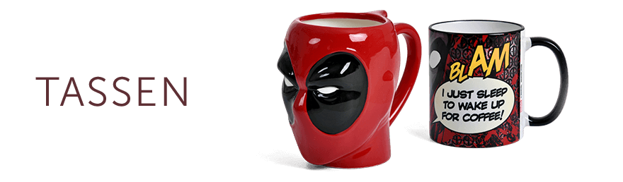 Deadpool - Tassen & Gläser