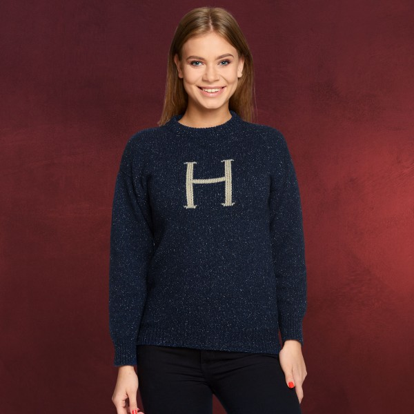Harry Potter - H for Harry Strickpullover blau