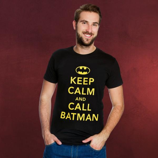 Batman - Keep Calm T-Shirt schwarz