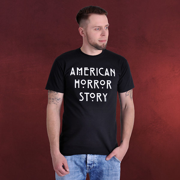 American Horror Story - AHS Logo T-Shirt schwarz