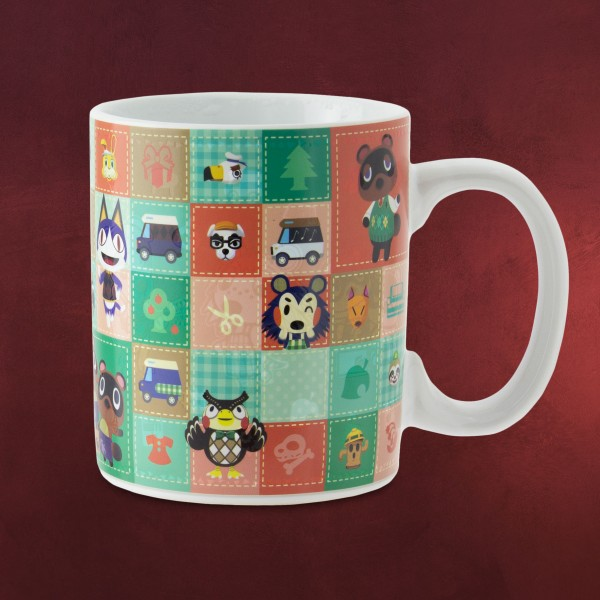 Animal Crossing - Characters Thermoeffekt Tasse