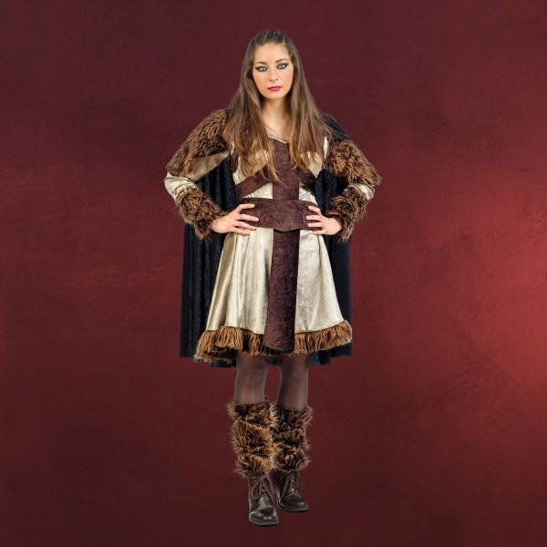 Wikingerin Bera - Kostüm Damen