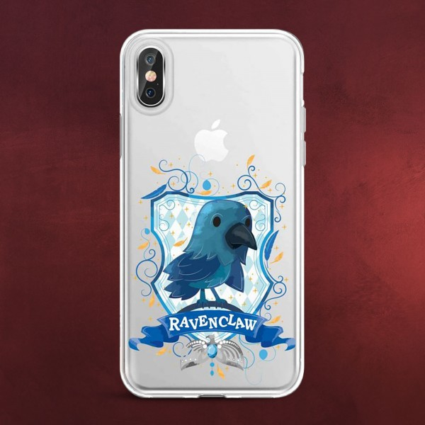 Harry Potter - Magical Ravenclaw iPhone X / XS Handyhülle Silikon transparent