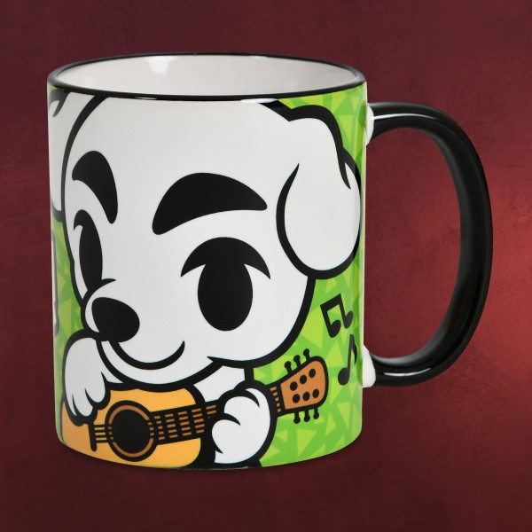 K.K. Slider Tasse für Animal Crossing Fans