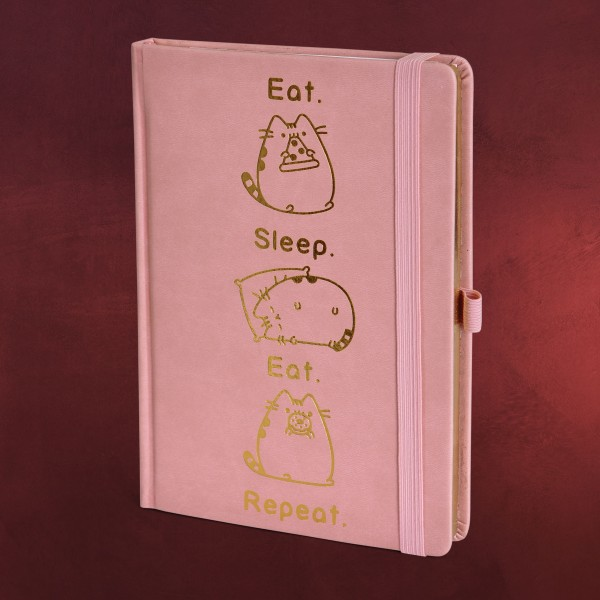 Pusheen - Eat & Sleep Premium Notizbuch A5