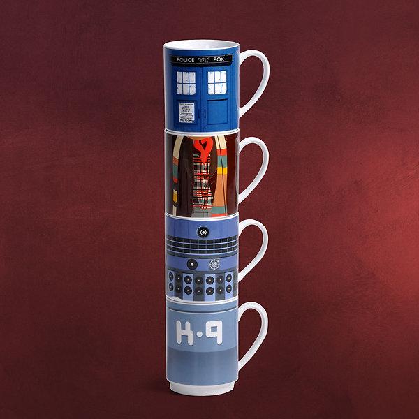 Doctor Who - Tassen Set