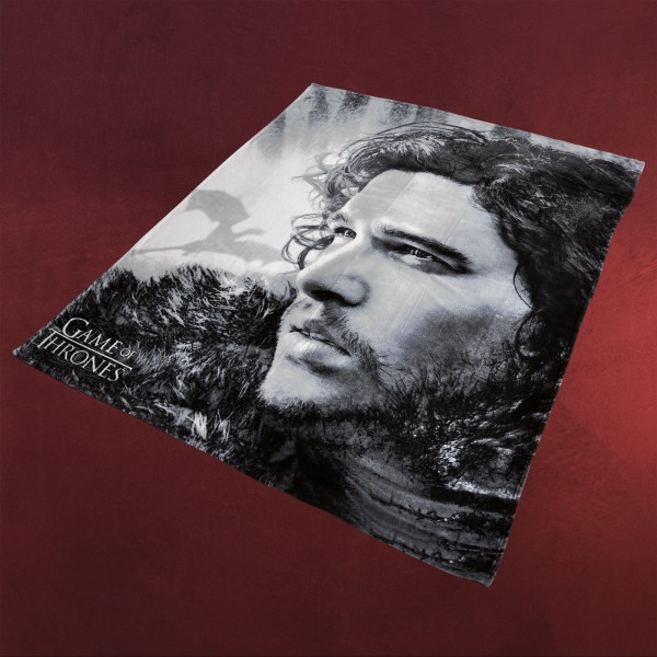 Game of Thrones - Jon Snow Flauschdecke