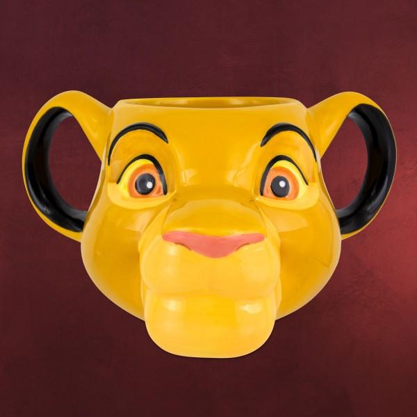 König der Löwen - Simba 3D Tasse