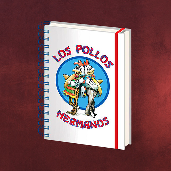 Breaking Bad - Los Pollos Hermanos Notizbuch
