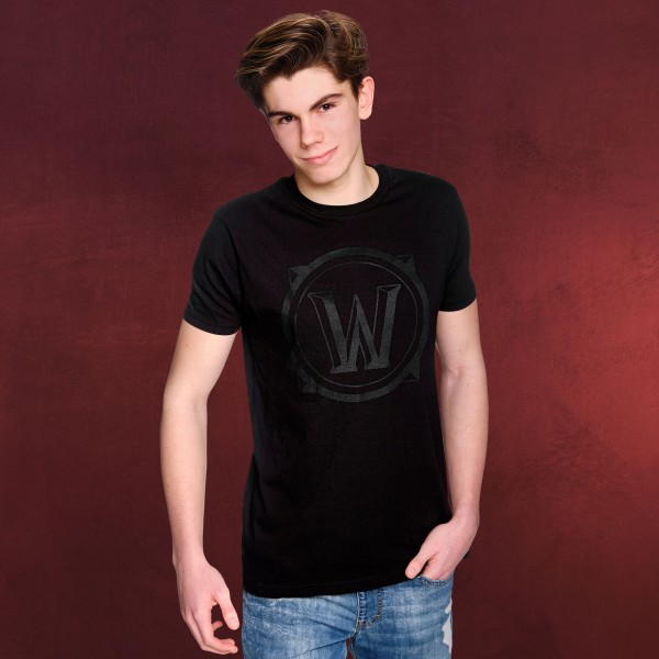 World of Warcraft - Black Icon T-Shirt schwarz
