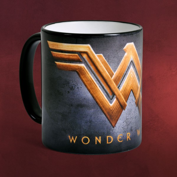 Wonder Woman - Golden Logo Tasse