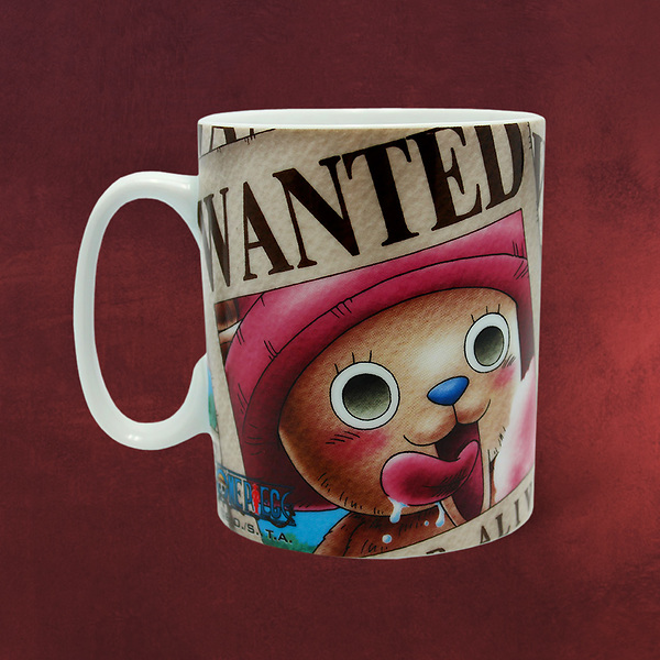 One Piece - Wanted Chopper Tasse