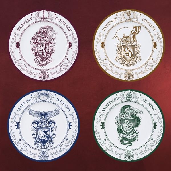 Harry Potter - Hogwarts Häuser Tellerset