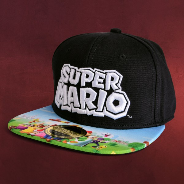 Super Mario - Group Snapback Cap