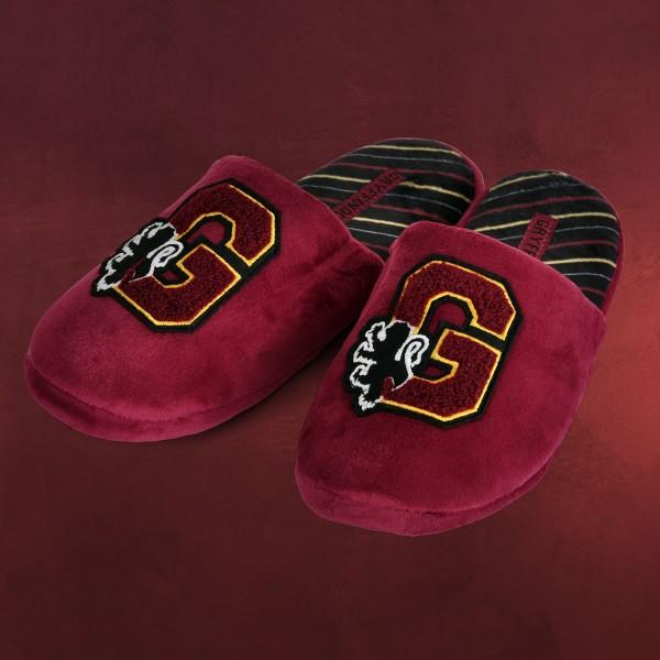 Harry Potter - Gryffindor Wappen Plüsch Pantoffeln rot