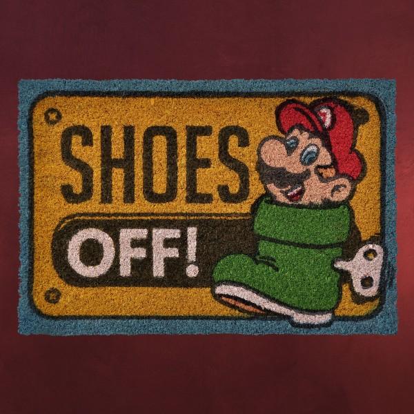 Super Mario - Shoes Off! Fußmatte