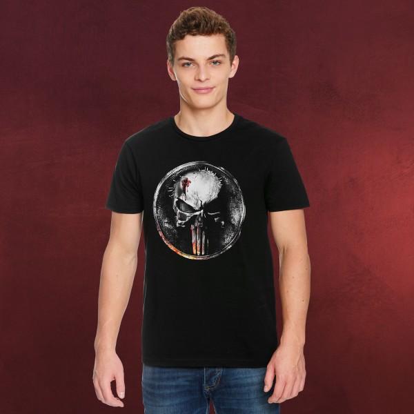 Punisher - Blood Logo T-Shirt schwarz